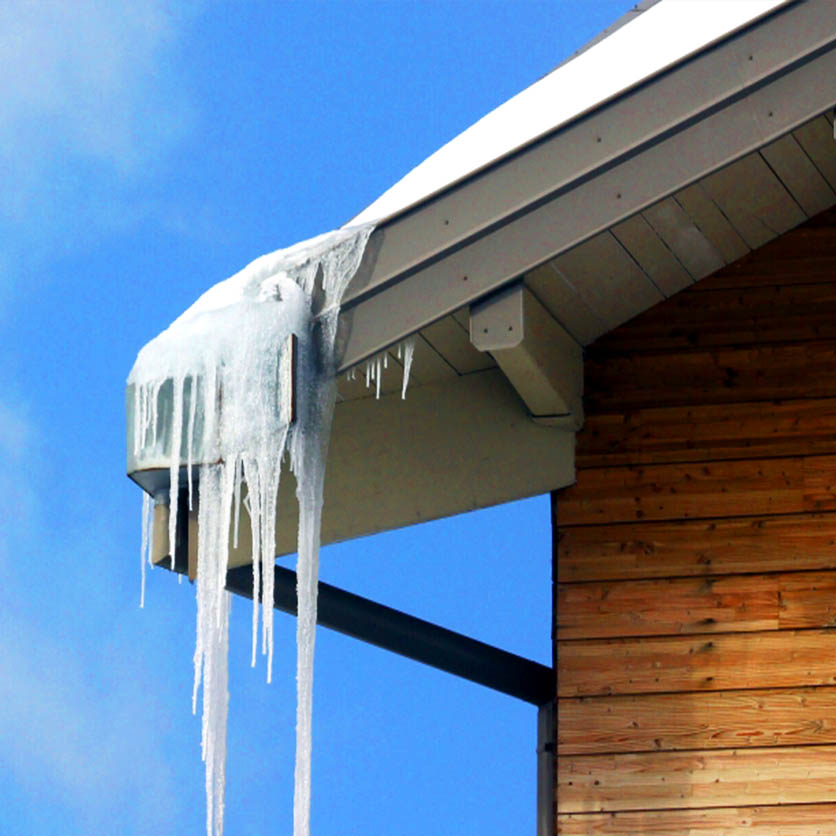 Products valor gutter guard melt away is a heated gutter guard system that melt away icicles and ice dams when used with a standard heated cable read more solutioingenieria Choice Image